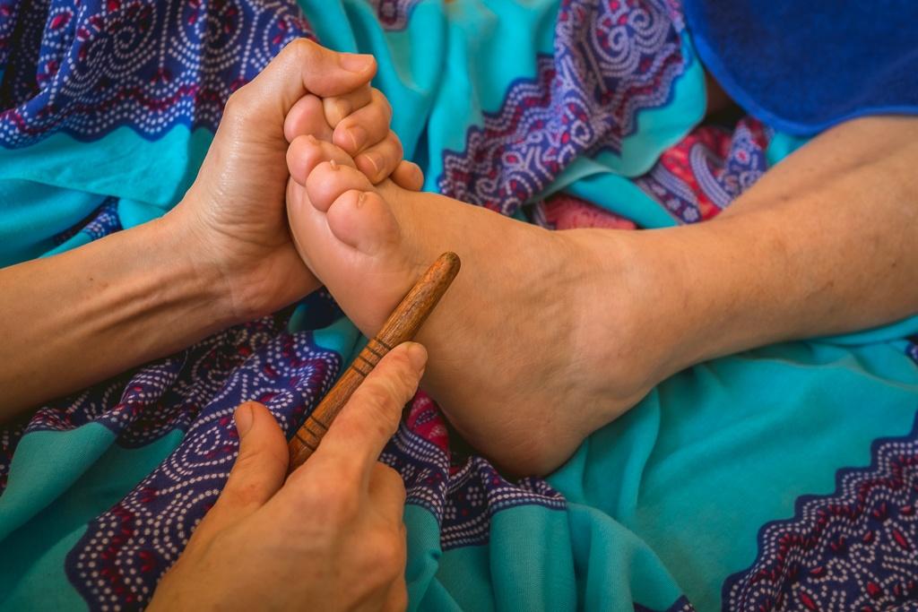 Tajski masaż stóp - masaż Bieszczady